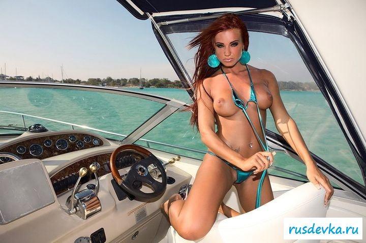 Воровка украла яхту
