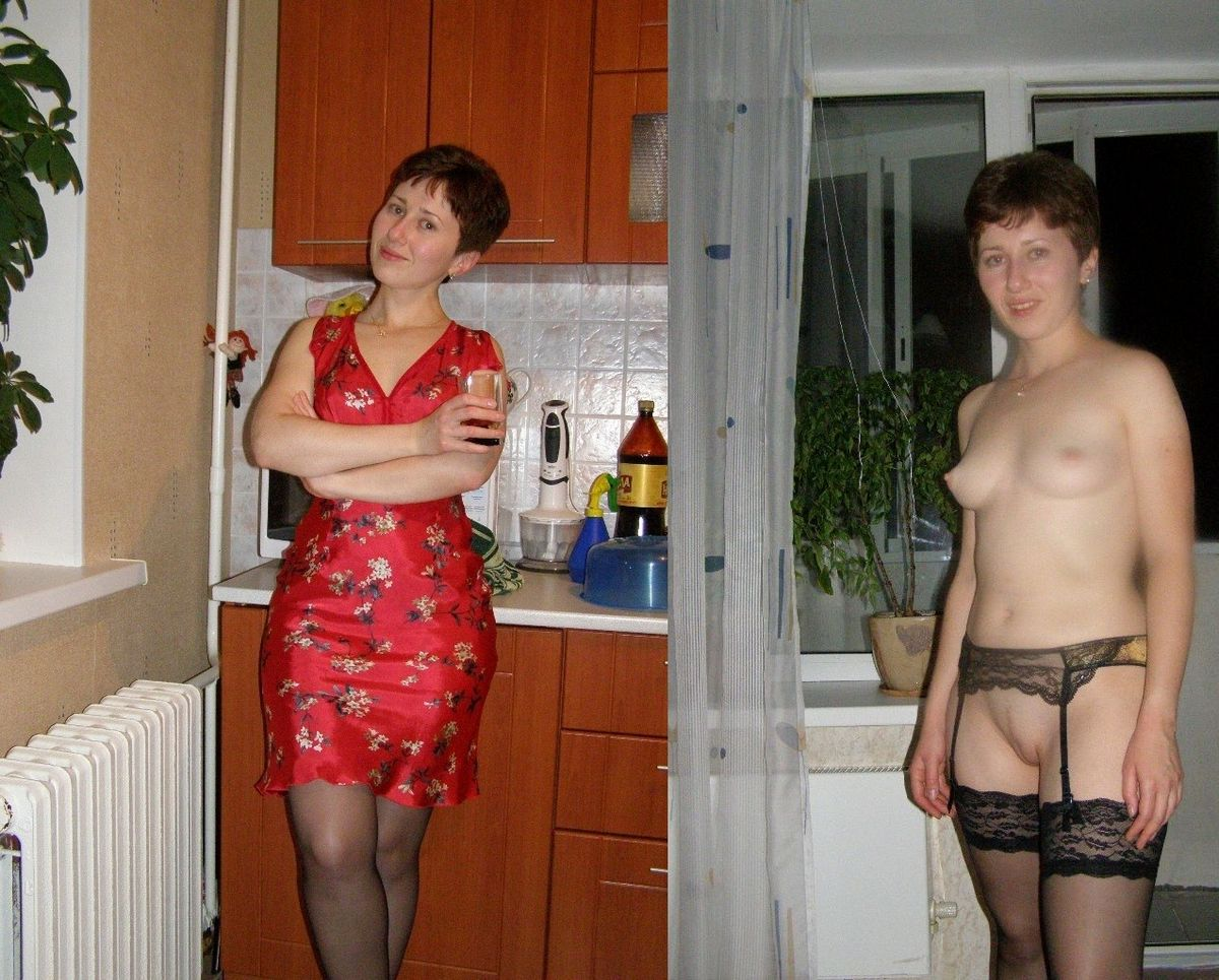 Одетые и обнаженные - подборка 008